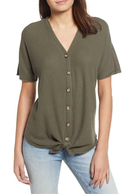 thermal shirt top nordstrom