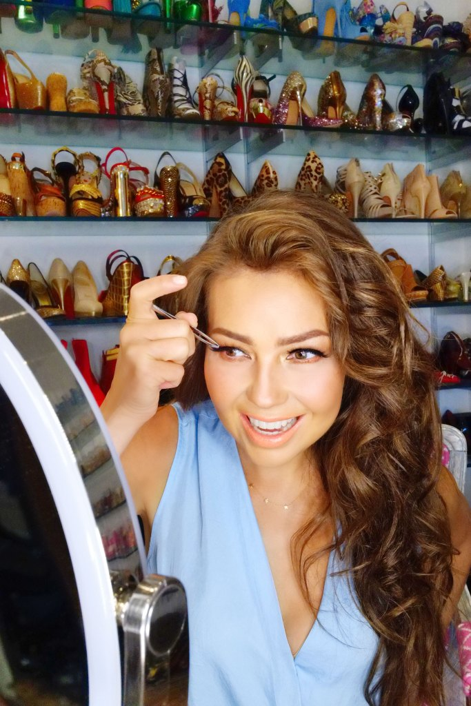 815f0d1731b Thalia Sodi's Tips for Her Eylure False Eyelash and Eyebrow Collection