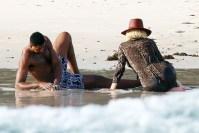 Khloe Kardashian Tristan Thompson Mexico Vacation Beach