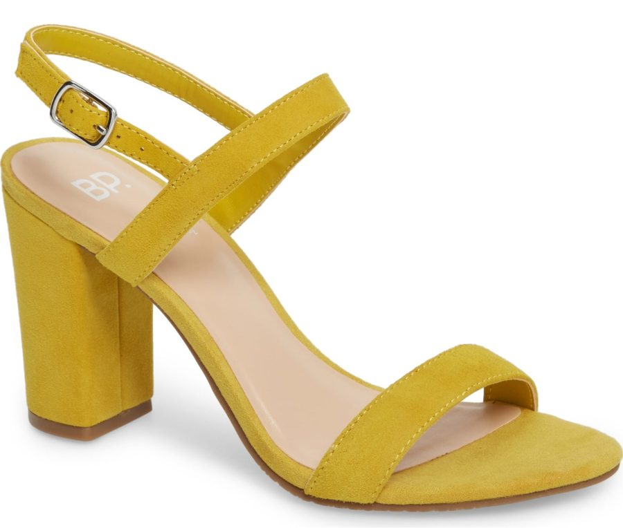 yellow slingback heels nordstrom