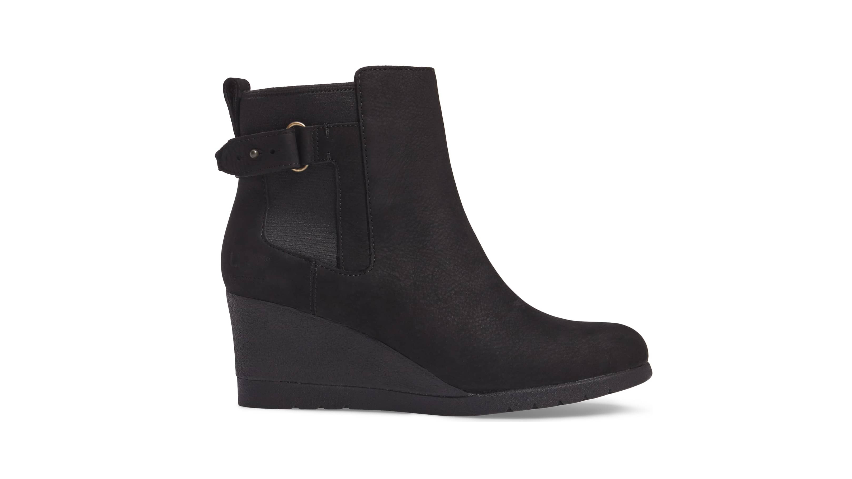 61697a95376 Keep Your Feet Dry With These Waterproof Ugg Wedge Boots