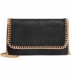 gold Stella McCartney bag