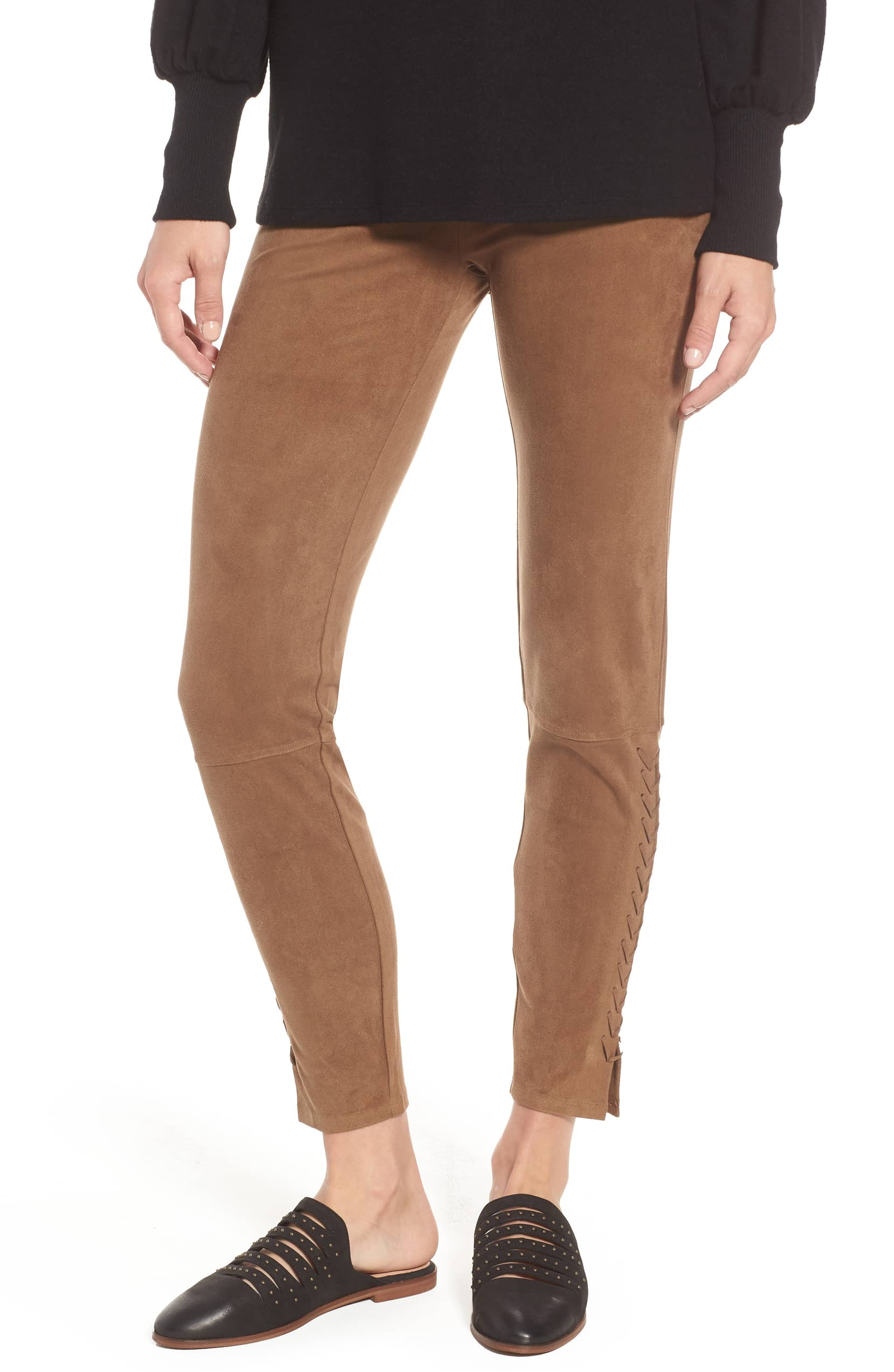 lysse suede leggings
