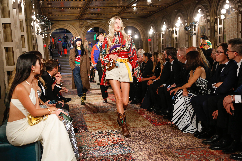 Ralph Lauren Show During New York Fashion Week