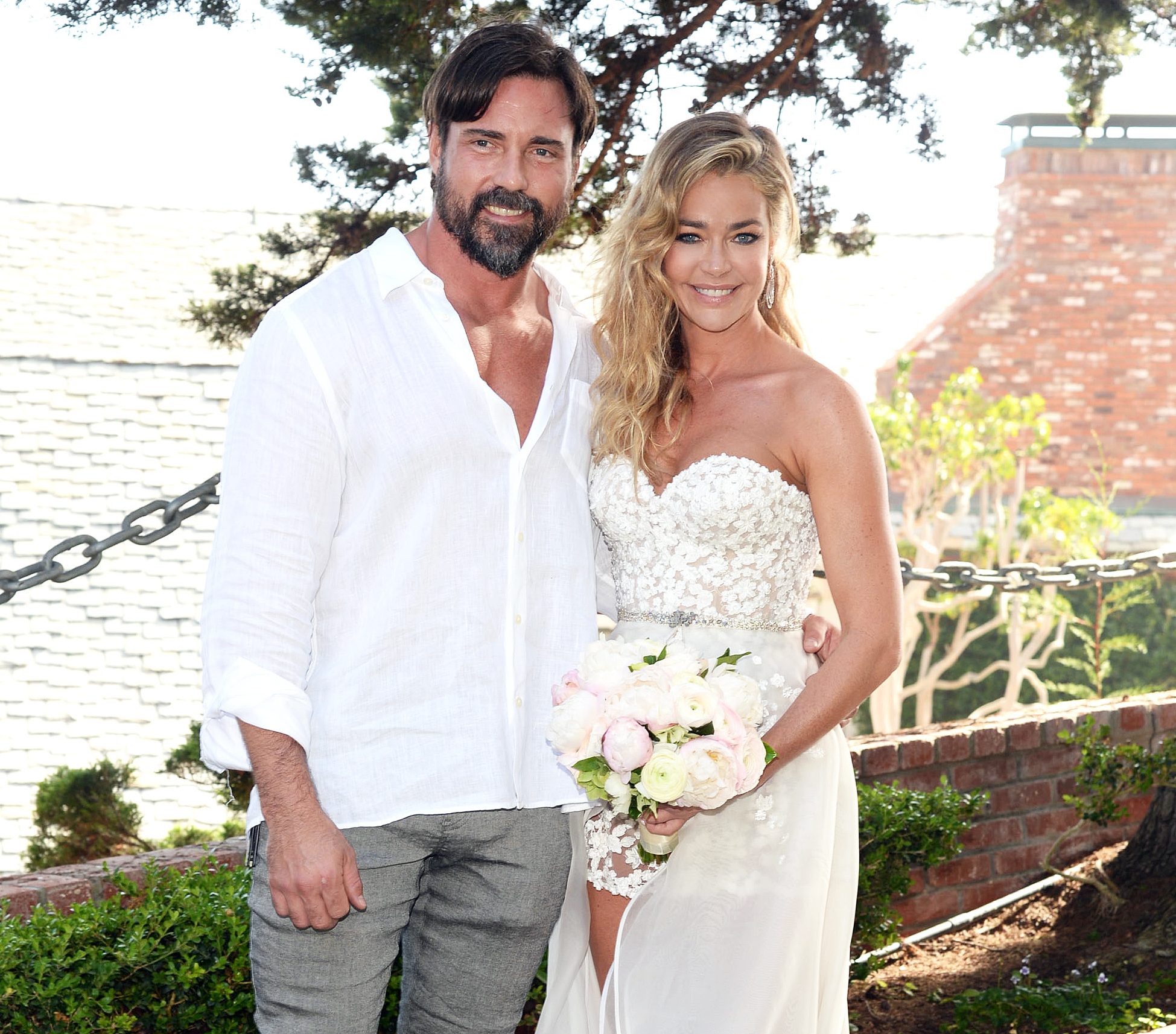 Brooke Mueller Congratulates Denise Richards wedding - Aaron Phypers and Denise Richards are married in Malibu, California on September 8, 2018.
