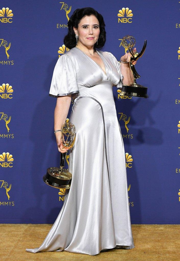 Alex Borstein Re-Wore Her Wedding Dress at 2018 Emmys: Pics