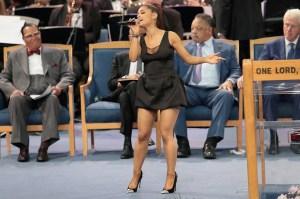 Ariana Grande, April Love Geary, Aretha Franklin