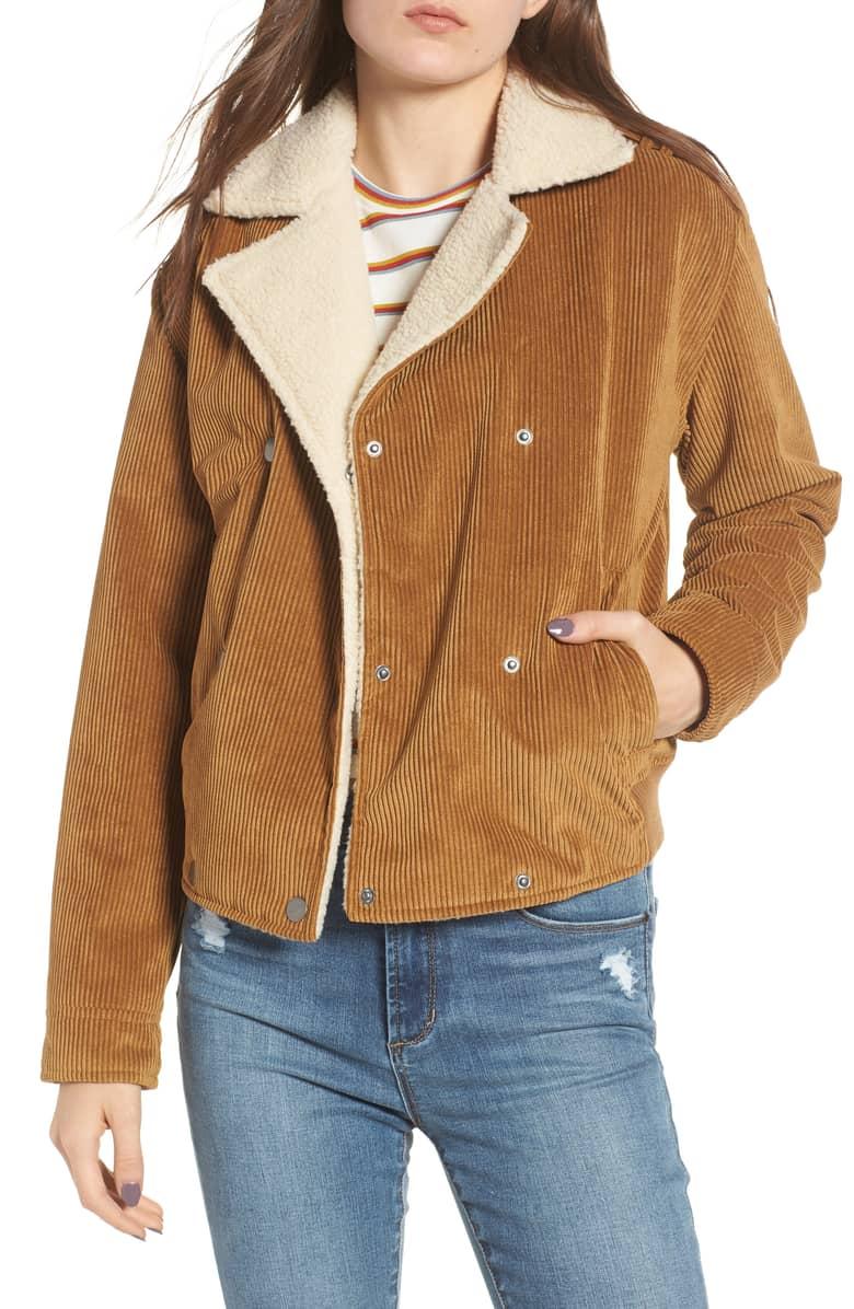 BP Fleece Lined Corduroy Jacket