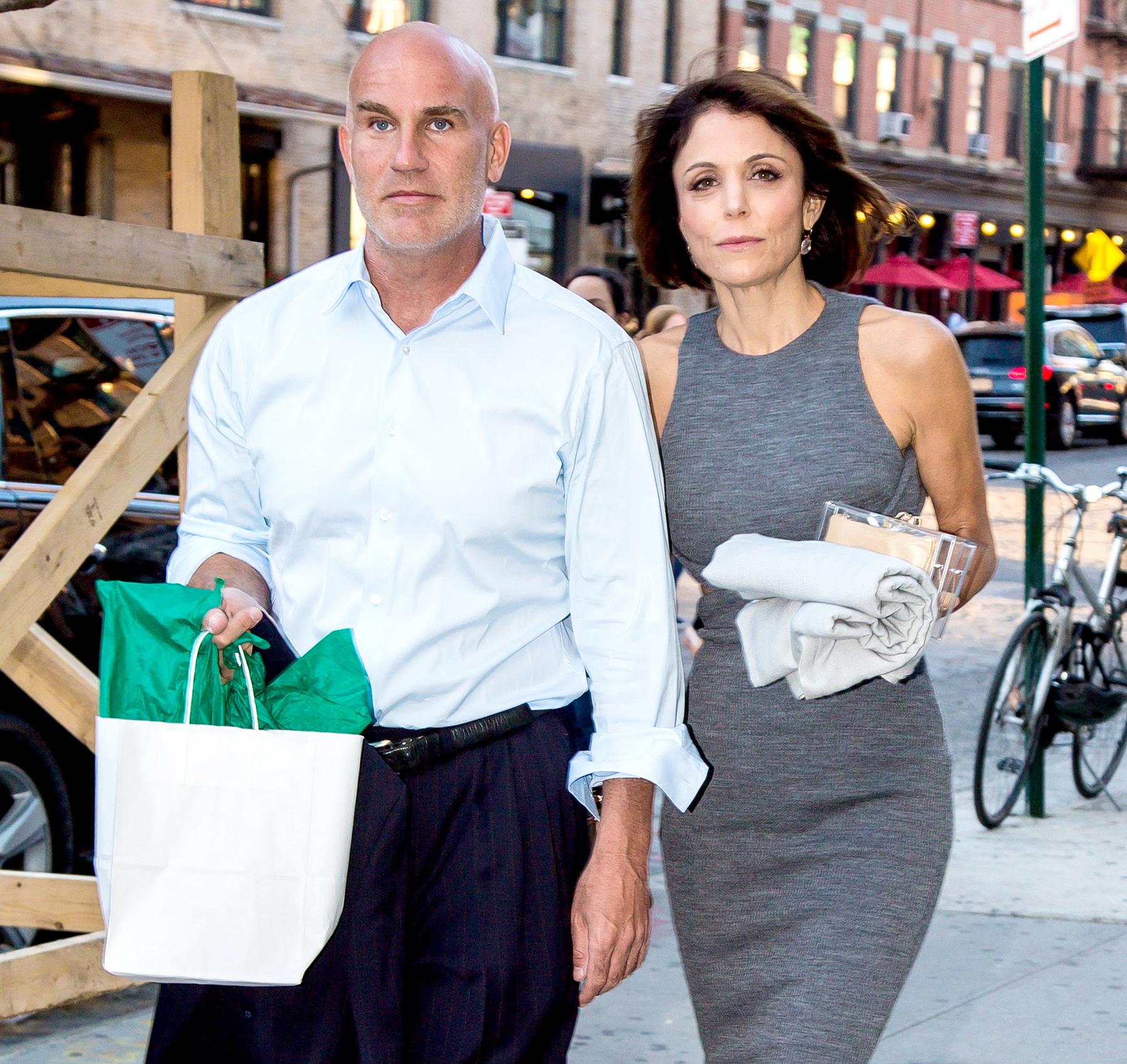 Bethenny-Frankel-remembers-Dennis-Shields - Dennis Shields and Bethenny Frankel are seen leaving SoHo House in New York City on June 14, 2016.