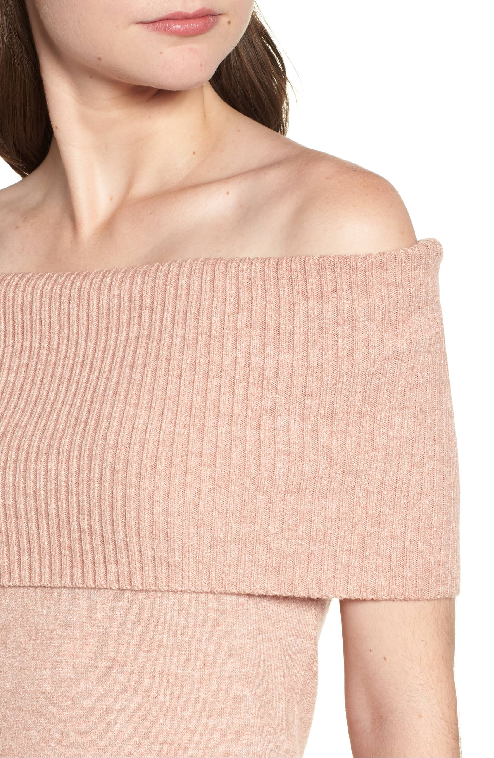 Bishop + Young Off the Shoulder Sweater