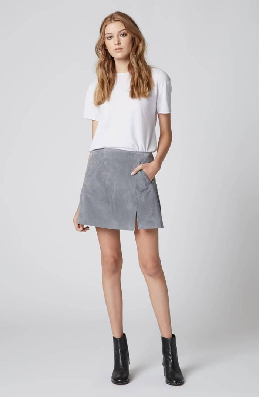 BlankNYC Suede Miniskirt