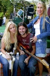Leah and Brandon Jenner, Linda Thompson