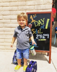 Celebrity Kids Back To School Boomer Phelps