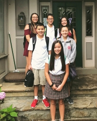 Celebrity Kids Back To School Kate Gosselin