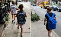 Celebrity Kids Back To School Sarah Jessica Parker Marion Tabitha James Wilkie