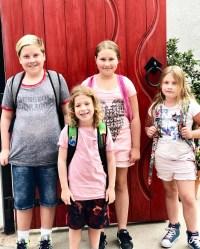 Celebrity Kids Back To School Tori Spelling