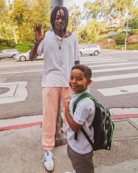 Celebrity Kids Back To School Wiz Khalifa