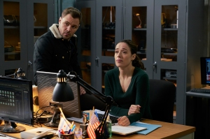 Chicago P.D.'s Marina Squerciati and Patrick Flueger Are Still Shipping Burzek