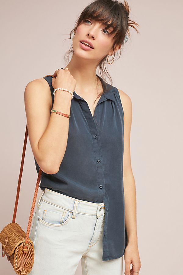 Cloth & Stone Sleeveless Buttondown