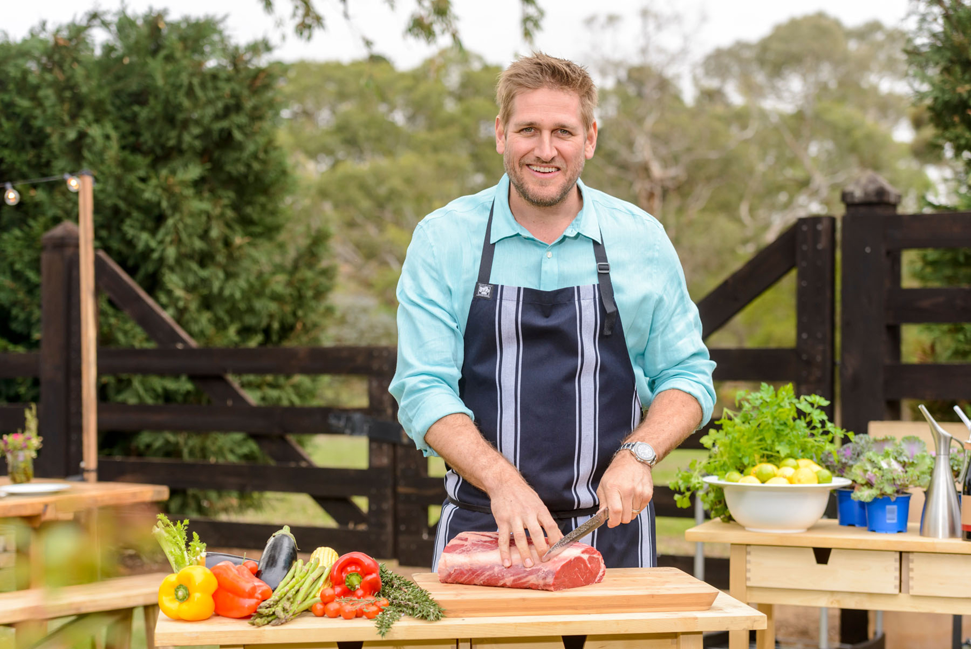 Curtis Stone Shares a Recipe for Grilled Rib-Eye Steaks with Gorgonzola Butter: 'It's Pretty Special' - Curtis Stone