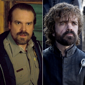 David Harbour and Peter Dinklage