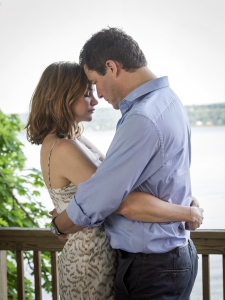 Ruth Wilson as Alison and Dominic West as Noah in The Affair