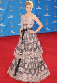 Emmys, Wackiest Dressed of All Time, Dianna Agron, 2010