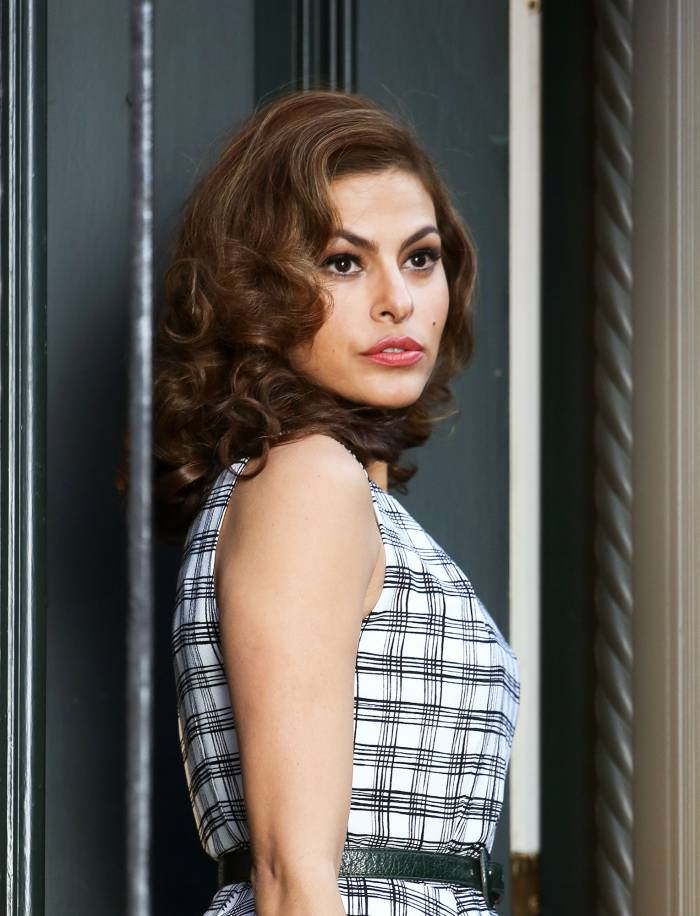 Eva Mendes sees herself as a horse