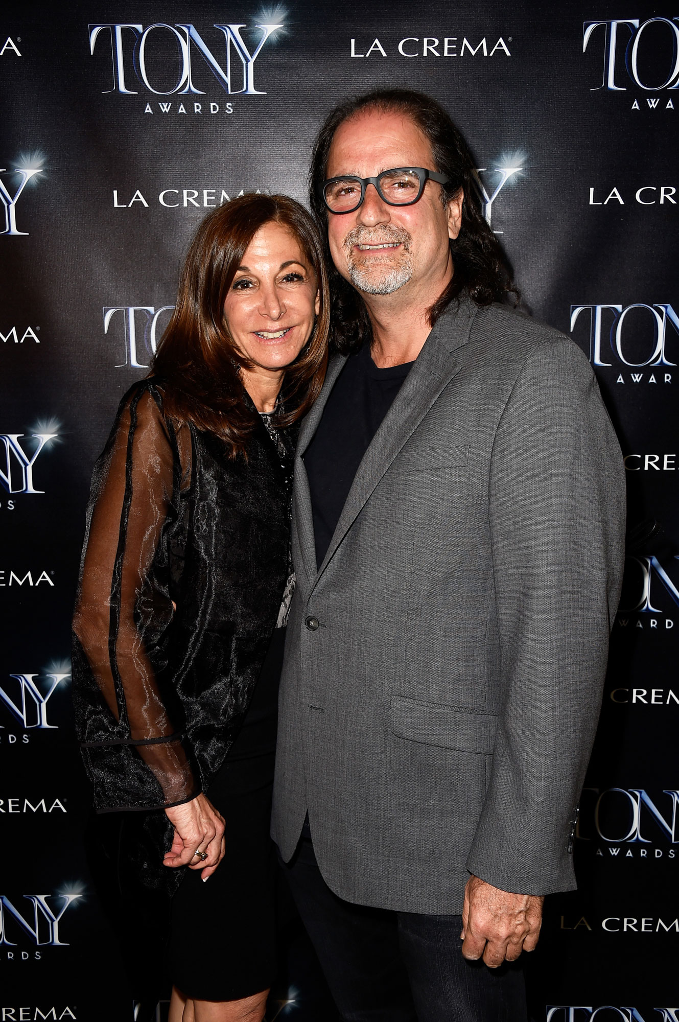 Glenn Weiss Jan Svendsen - The Broadway League Director of Marketing and Business Development Jan Svendsen (L) and Director Glenn Weiss attend The Tony Awards celebration of Broadway in Hollywood at Sunset Towers on March 25, 2015 in West Hollywood, California. (Photo by Frazer Harrison/Getty Images for THE TONY AWARDS)