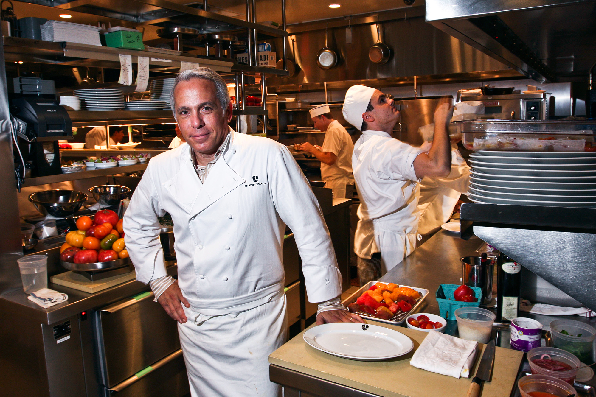 Hottest Male Chefs: Curtis Stone, Antoni Porowski and More - A presence on the celebrity chef scene for about 30 years, there's no culinary expert who makes gray hair and glasses look better than Zakarian, 59. What's more?