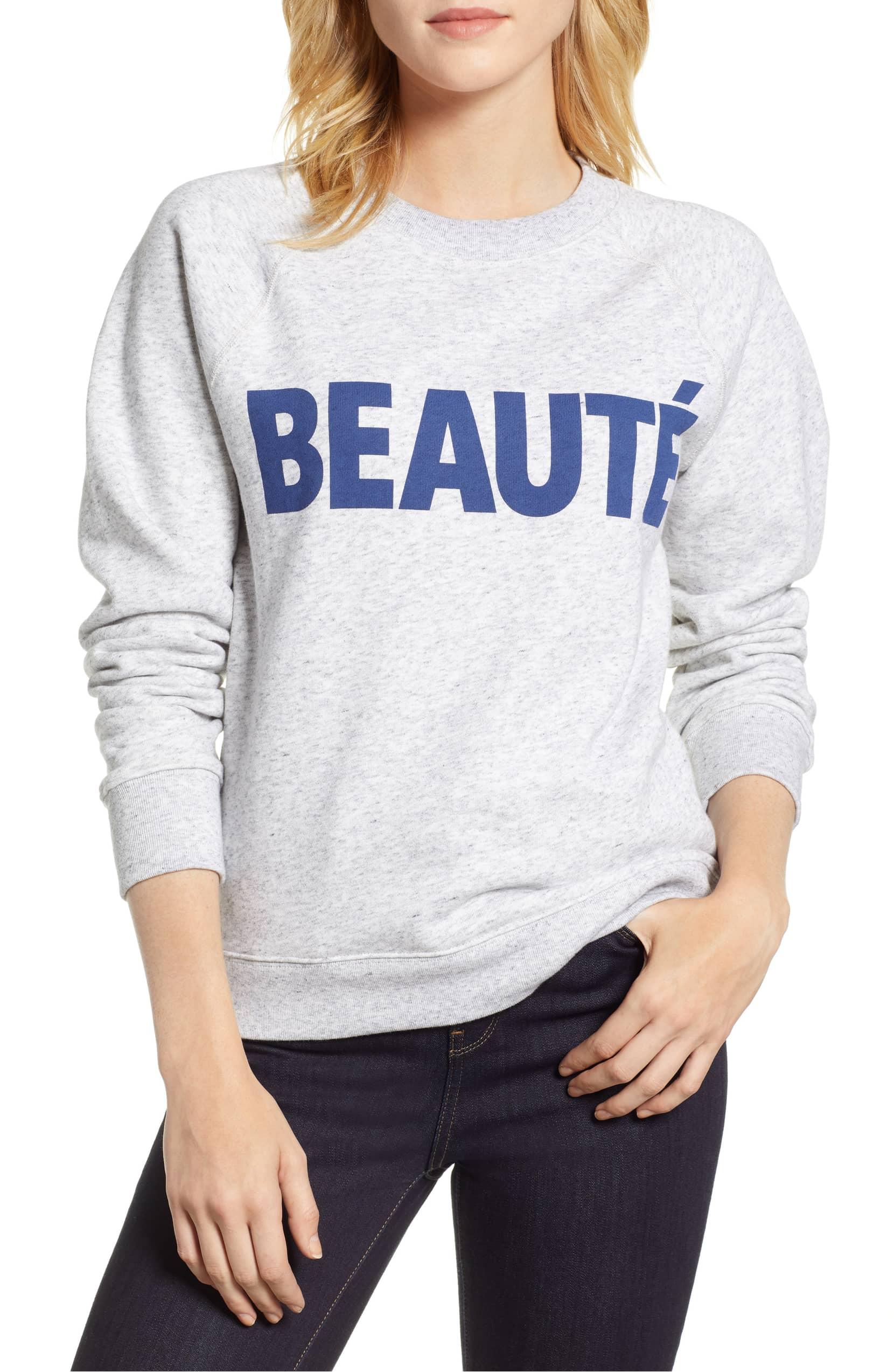 J.Crew Beauté Sweatshirt