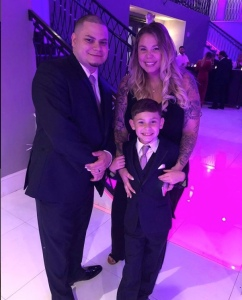 Jo Rivera and Kailyn Lowry and their son Isaac