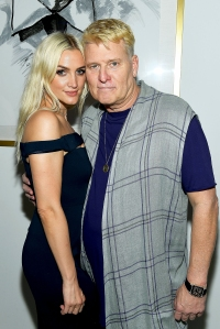 Joe Simpson and Daughter Ashlee Simpson Tear Up Talking About His Near-Fatal Cancer Battle