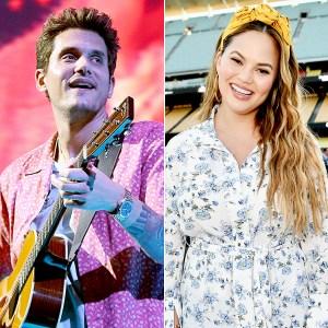 John Mayer and Chrissy Teigen