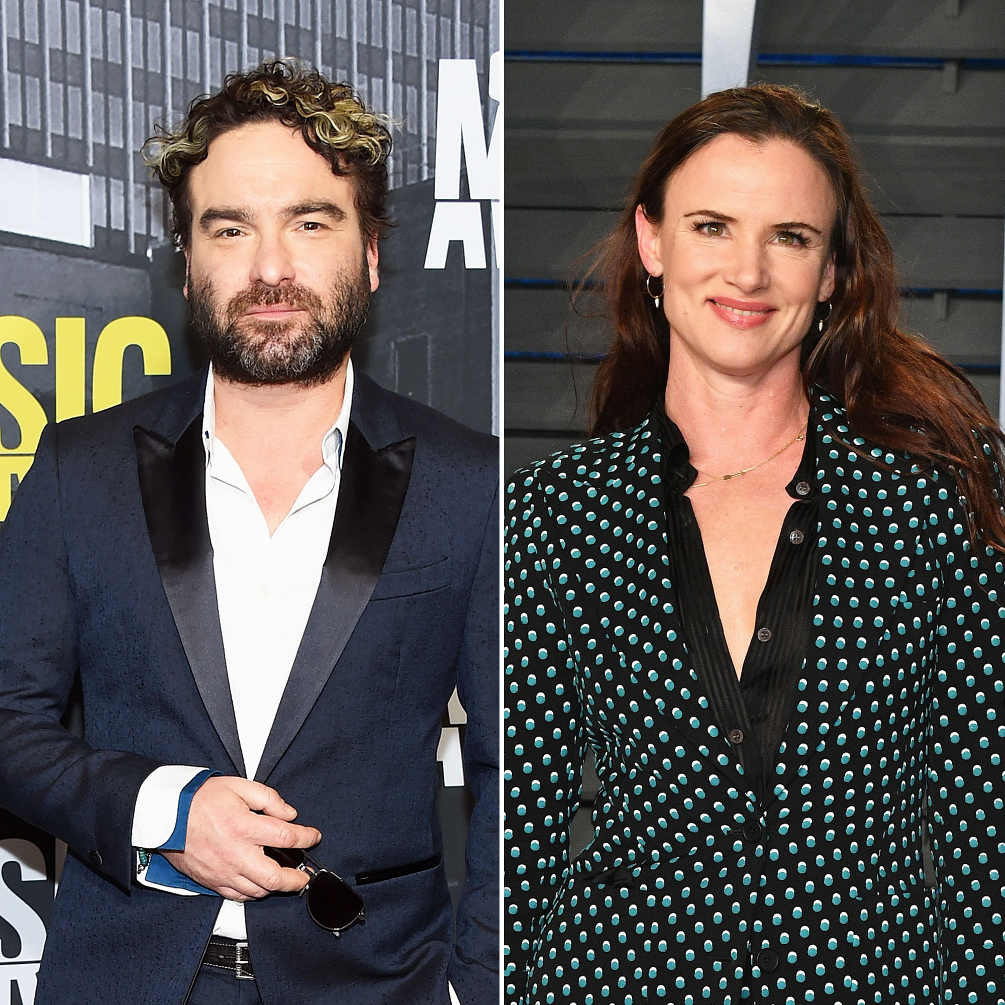 Johnny Galecki Christmas Vacation.Juliette Lewis Will Play Johnny Galecki S Gf On The Conners