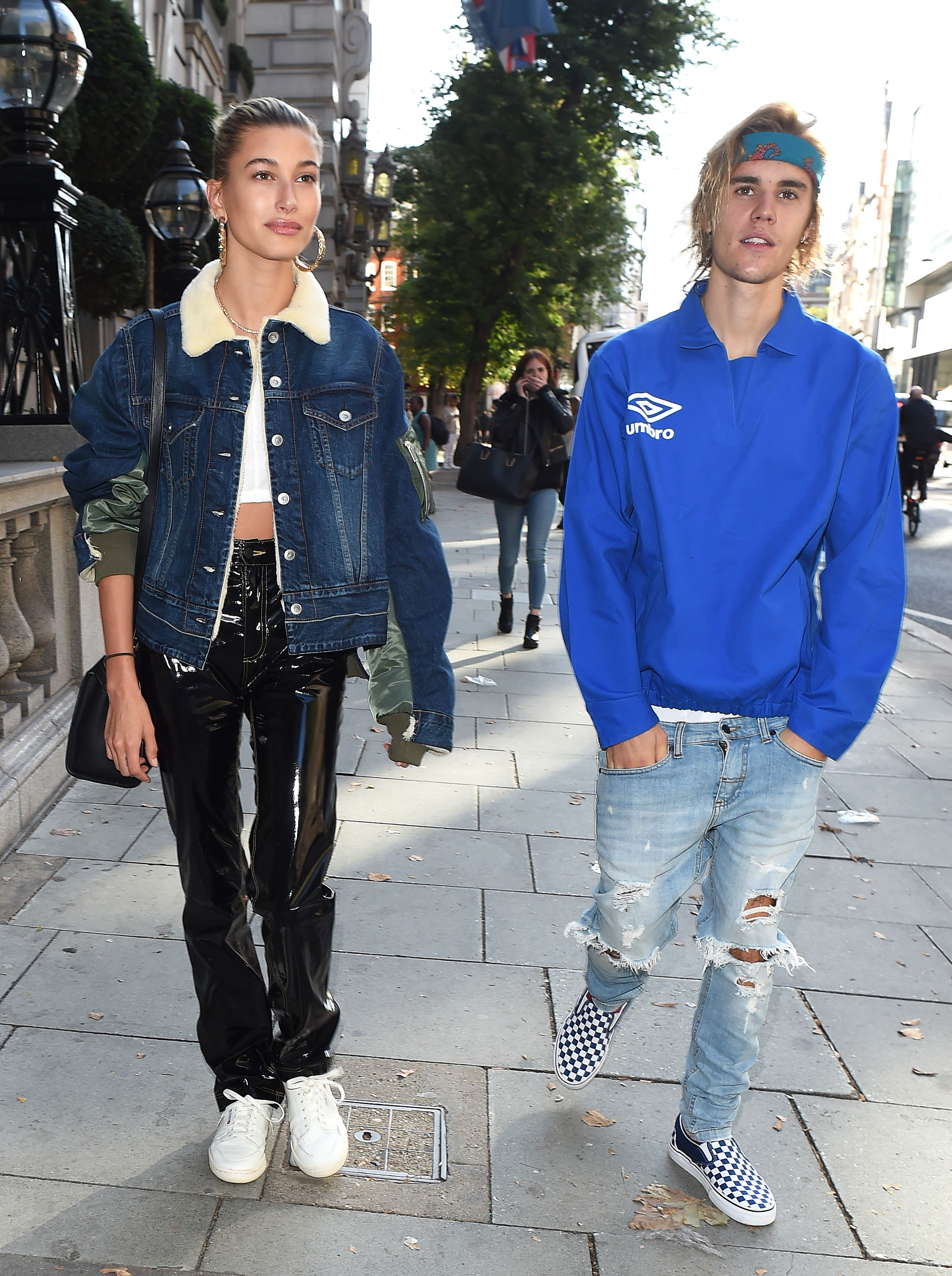 02b6b8d4cb74 Justin Bieber and Hailey Baldwin s Best Couples Fashion Moments  Pics