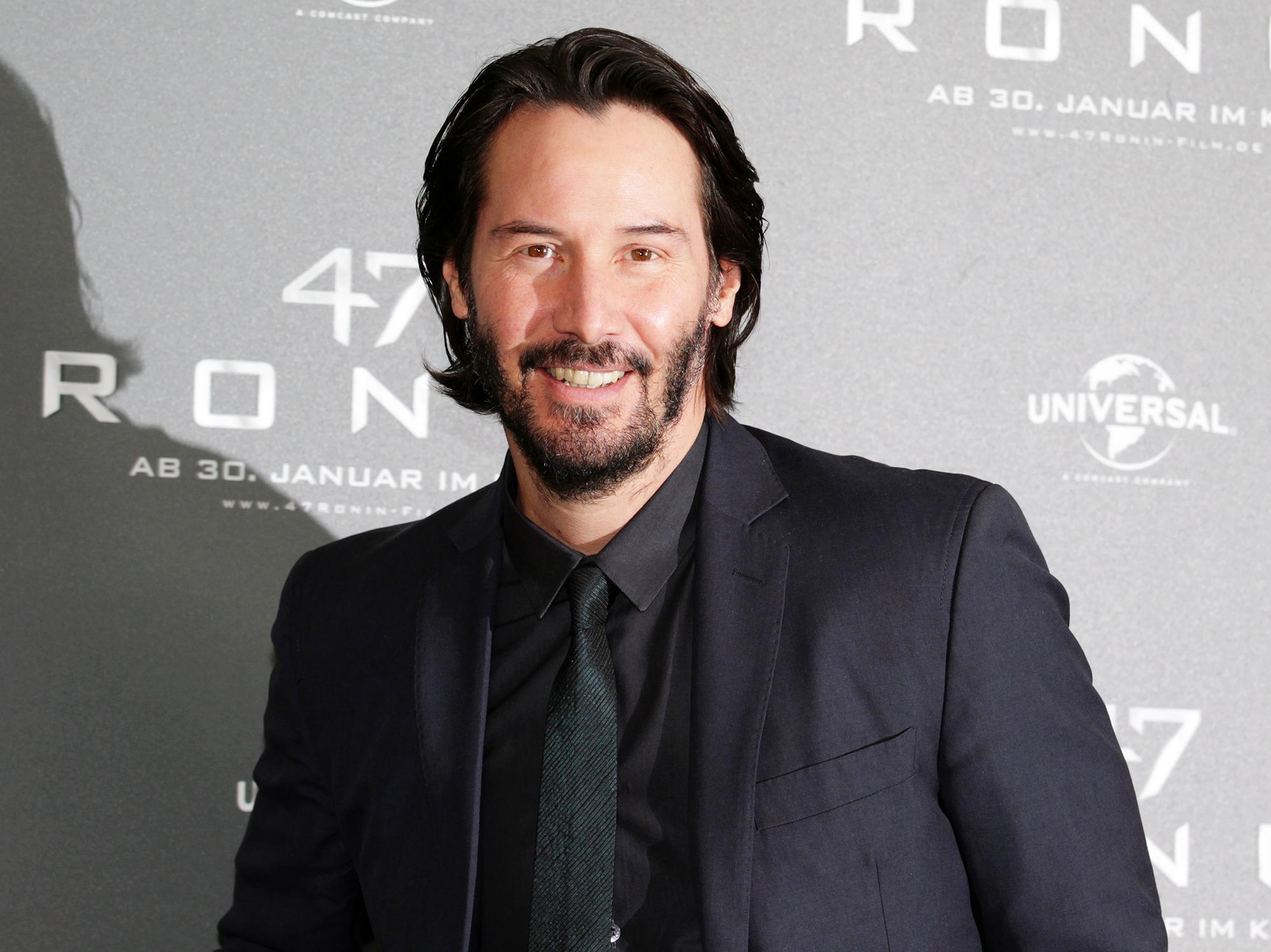 Keanu Reeves 2018