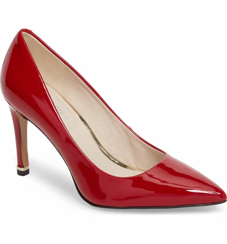Kenneth Cole Riley 85 Patent Leather Pump