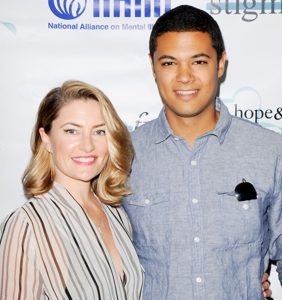 Madchen-Amick-and-her-son-Sylvester