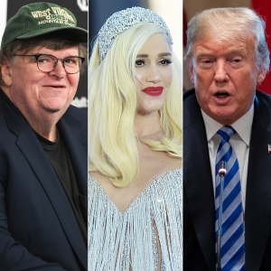 Michael Moore Claims Gwen Stefani Caused Donald Trump to Run for President: 'It Just Went Off the Rails'