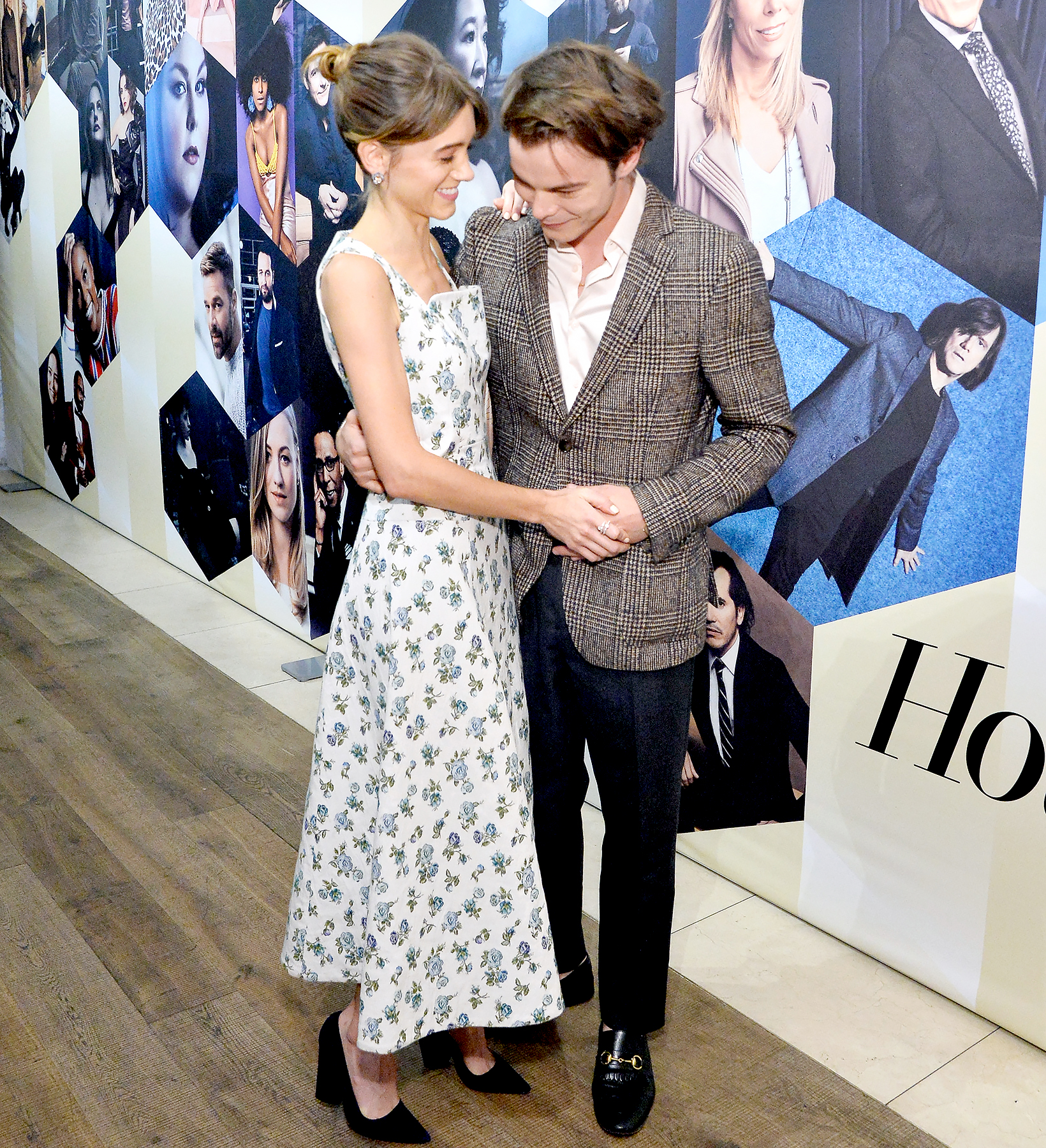 Natalia-Dyer-and-Charlie-Heaton-PDA - Natalia Dyer and Charlie Heaton attend The Hollywood Reporter & SAG-AFTRA 2nd annual Emmy Nominees Night presented by Douglas Elliman and Heineken at Avra Beverly Hills Estiatorio on September 14, 2018 in Beverly Hills, California.