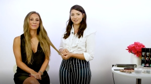 Olivia Culpo's Stylist Shows Us How to Create Waves With a Flatiron