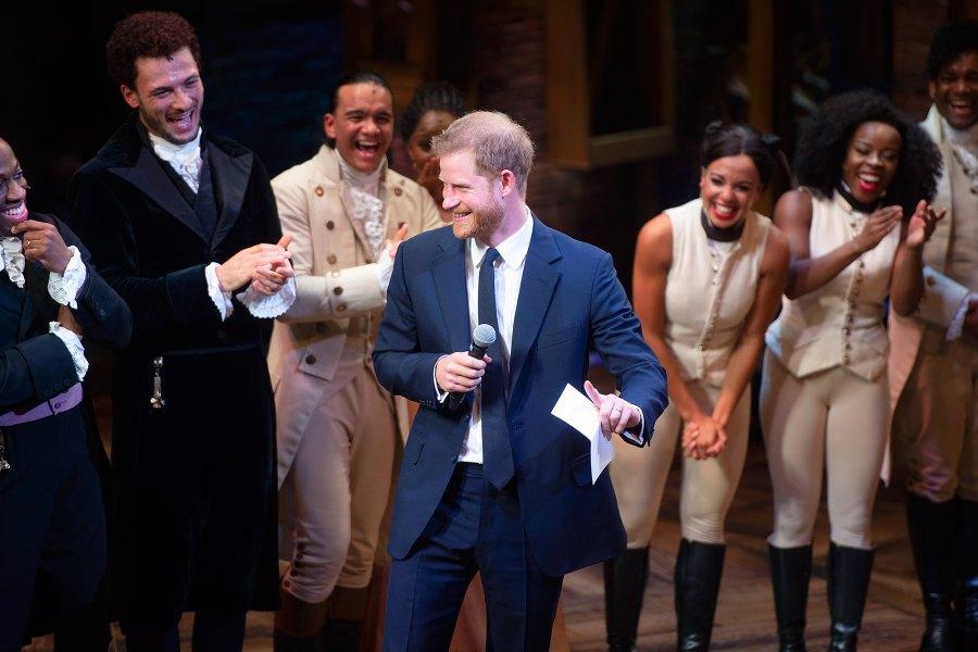 Prince Harry, Hottest Moments, Hamilton, Victoria Palace Theatre