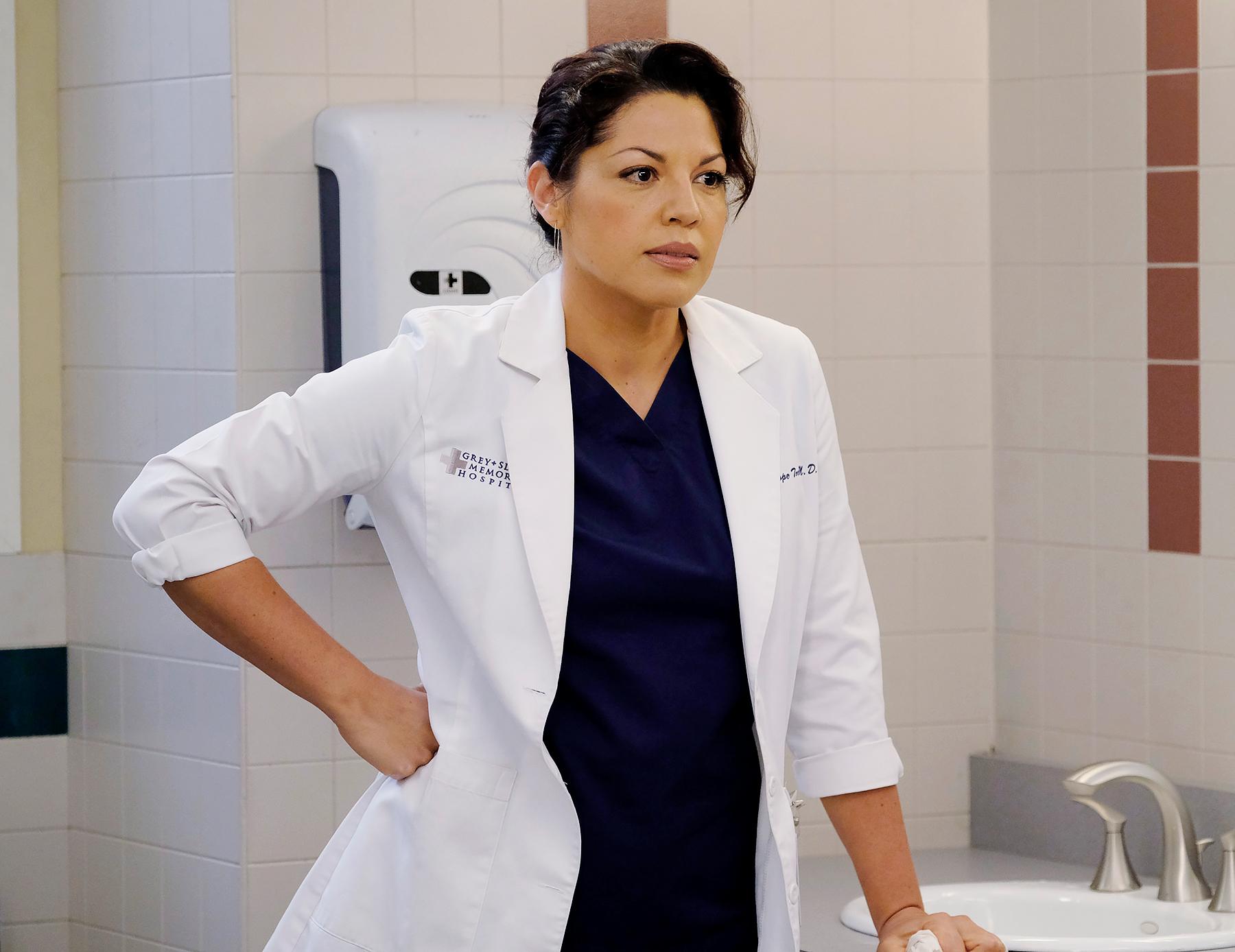 Sara Ramirez on Grey's Anatomy - Sara Ramirez on Grey's Anatomy