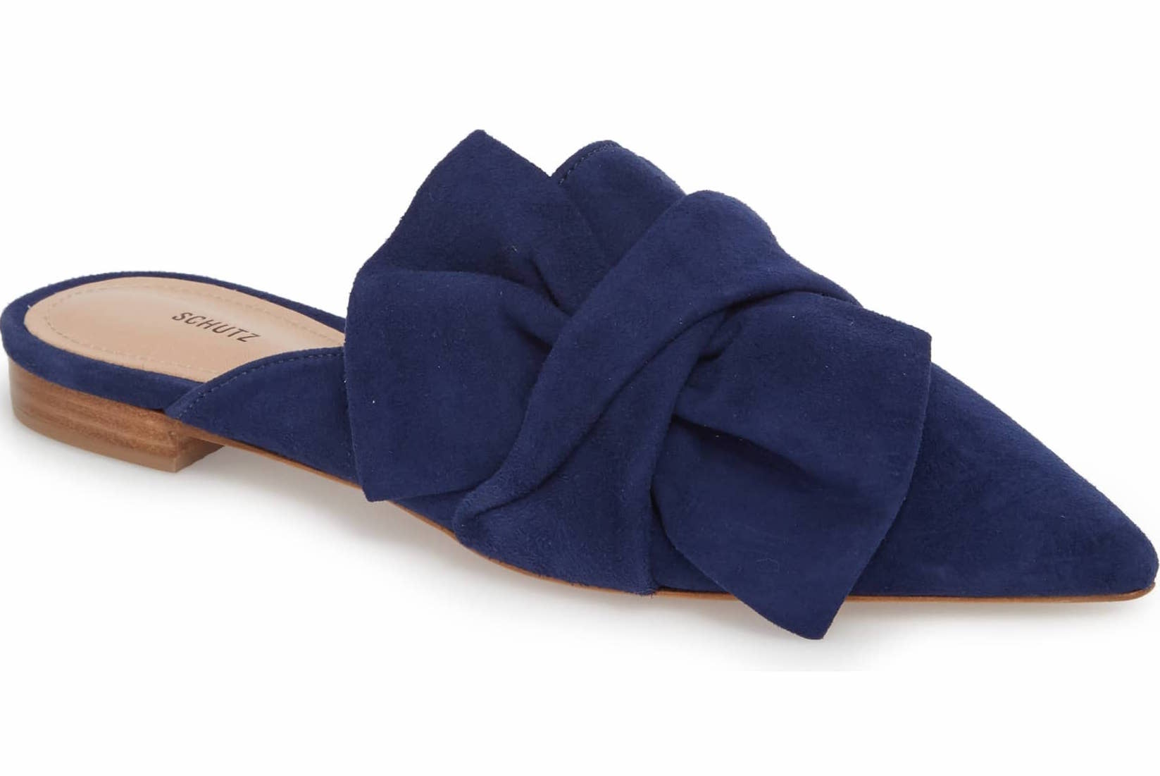 Schutz D'Ana Knotted Loafer Mule