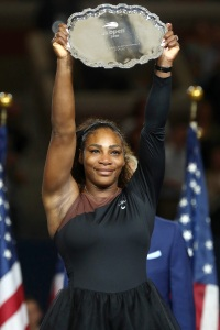Serena Williams, US Open, Trophy