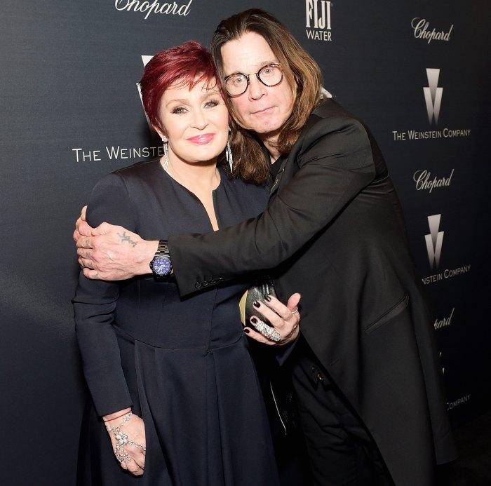Kelly Osbourne Sharon Ozzy Anniversary Forever Love