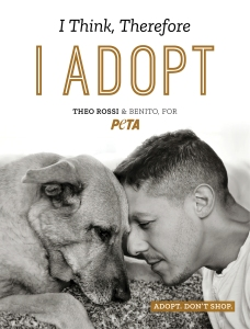 Theo Rossi and His Rescue Dog Benito Team Up With PETA to Encourage Pet Adoption
