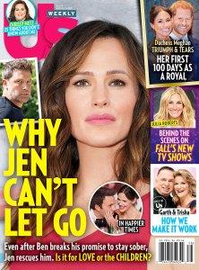 US3818 Us Weekly Cover Jennifer Garner