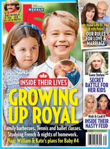 UW3918 Us Weekly Cover Prince George Princess Charlotte